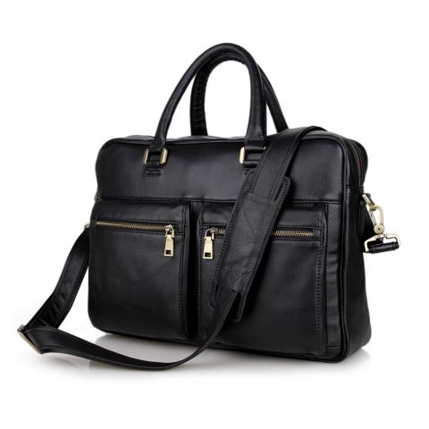 Business Men Leather Laptop Bags Man Crossbody